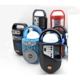 PARLANTE BLUETOOTH USB RADIO - LUZ BLANCA Y LEDS RÍTMICOS