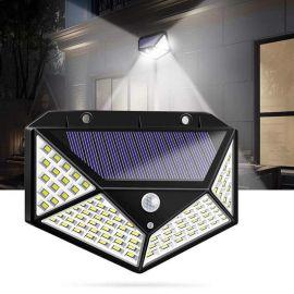 REFLECTOR SOLAR CON SENSOR DE MOVIMIENTO - 100 LEDS - M501