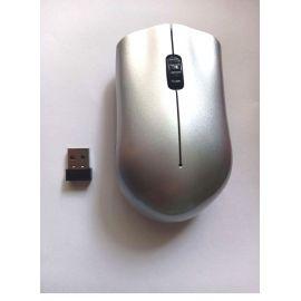 MOUSE INALÁMBRICO USB - 3,200 DPI - 3 BOTONES - PLOMO