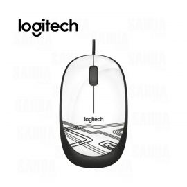 MOUSE CON CABLE USB  LOGITECH M105  – BLANCO