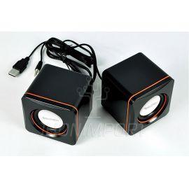 PARLANTES STEREO USB 3X2 W. - BOOM BOX