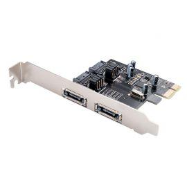 TARJETA PCI E A  SATA 3.0 & E SATA- ORICO MOD. PAS-2E2U