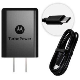 CARGADOR USB CON CABLE TIPO C -MOTOROLA