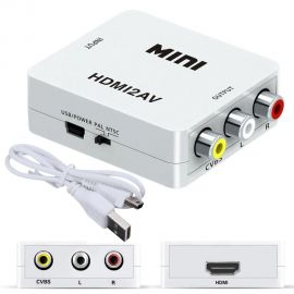 ADAPTADOR HDMI A RCA - 1080p